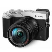 Фотоапарат Panasonic Lumix GX8 Silver тяло + обектив Panasonic Lumix G Vario 14-140mm f/3.5-5.6 II ASPH. /POWER O.I.S.