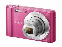 Фотоапарат Sony Cyber-Shot DSC-W810 Pink + Памет SDHC Sony 8GB