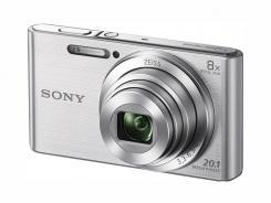 Фотоапарат Sony Cyber-Shot DSC-W830 Silver +  Памет SDHC Sony 8GB Class 4 (15MB/s)
