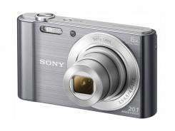 Фотоапарат Sony Cyber-Shot DSC-W810 Silver + калъф Sony LCS-BDG