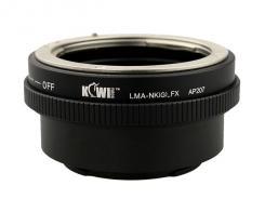 Адаптер KIWIfotos Nikon G - Fujifilm X (LMA-NK(G)_FX)